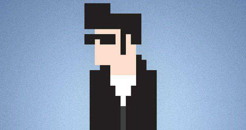 How To Create an 8-Bit Pixel Character adobe illustrator tutorial