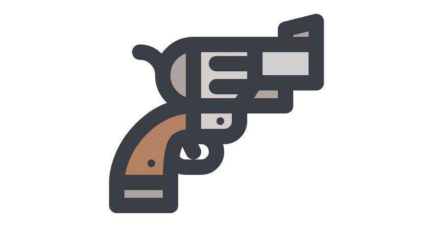 How to create a Revolver Icon adobe illustrator tutorial