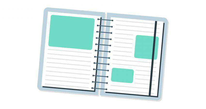 How to Create a Notebook Icon adobe illustrator tutorial
