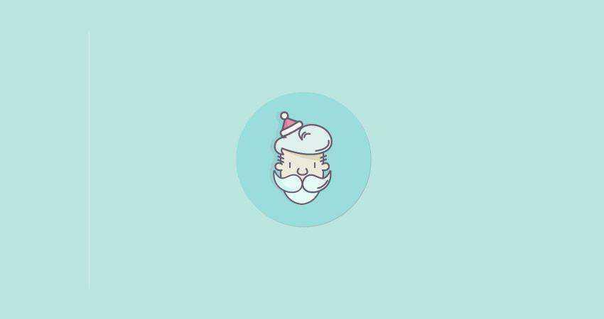 How to Create a Santa Claus Icon adobe illustrator tutorial
