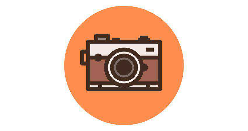 How to Create a Camera Icon adobe illustrator tutorial