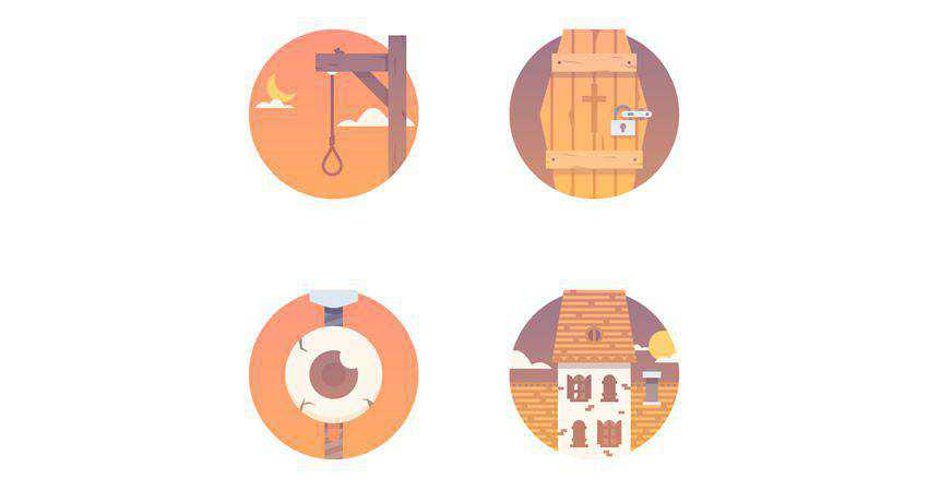 How to Create a Halloween Icon Pack adobe illustrator tutorial
