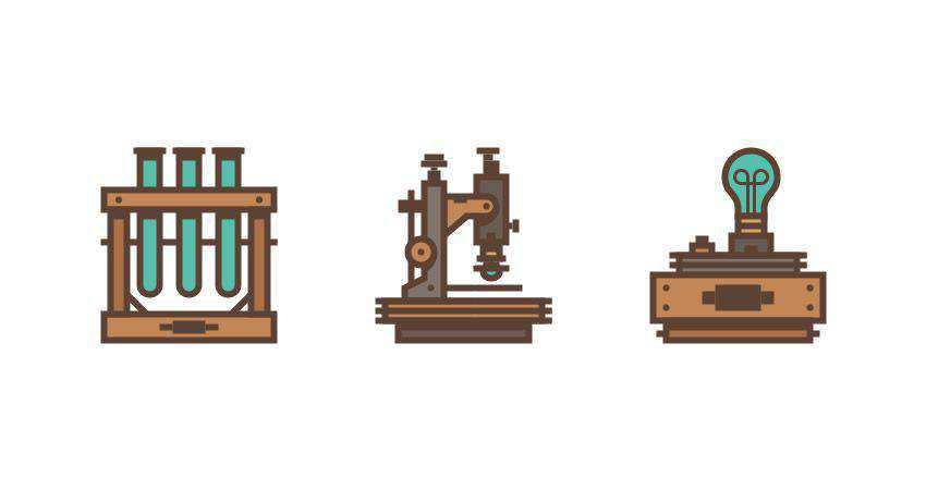 How to Create a Retro Science Icon Set adobe illustrator tutorial