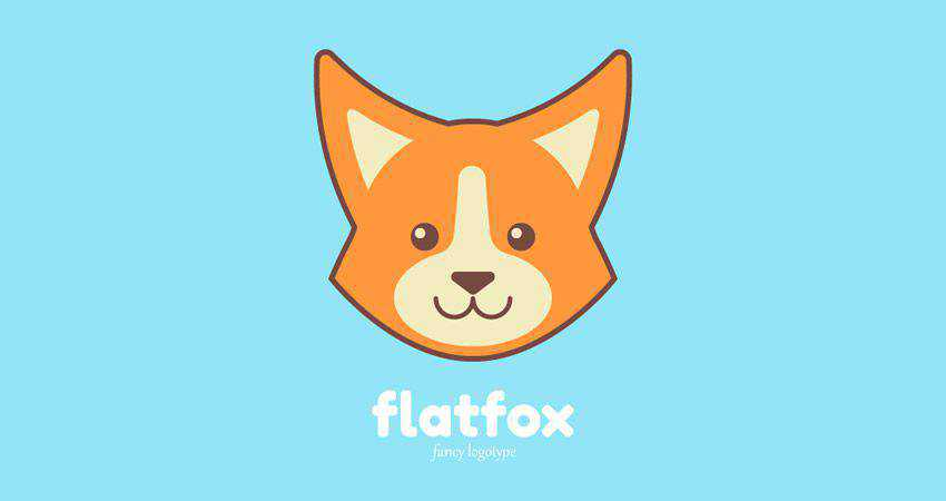 How to Create a Simple Cute Fox Logo adobe illustrator tutorial