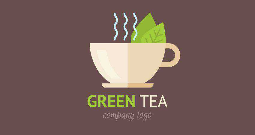 How to Design a Flat Teacup Logo adobe illustrator tutorial