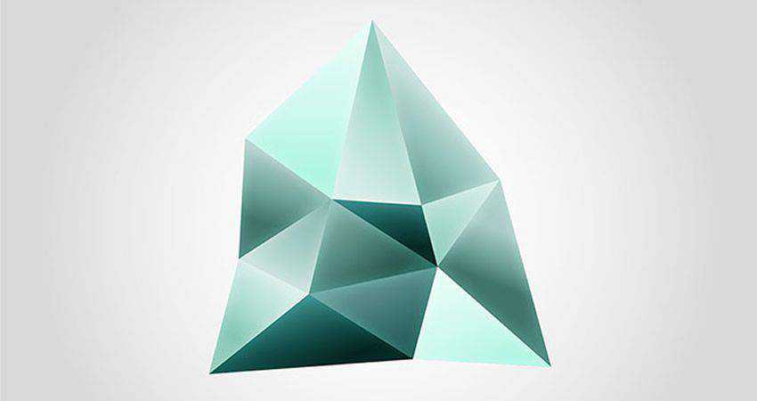 How To Create a Faceted Gemstone Logo Design adobe illustrator tutorial
