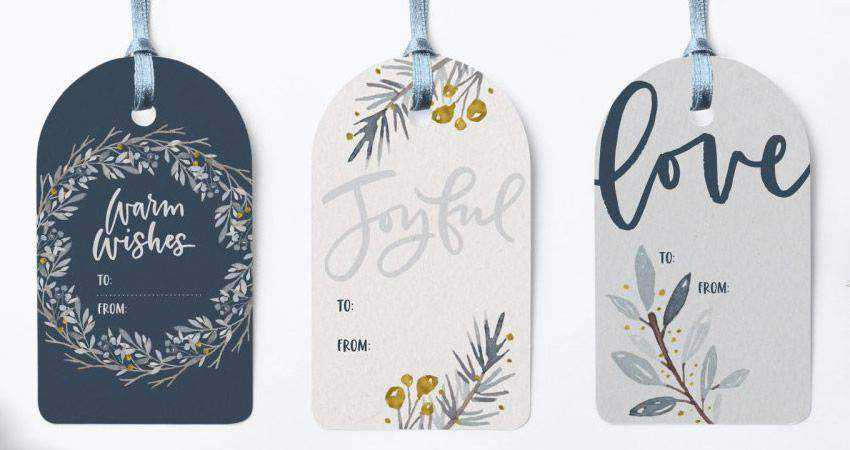 How to Design Winter Watercolor Gift Tags adobe illustrator tutorial