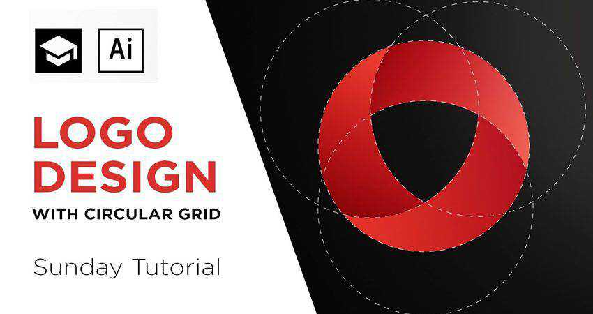 How to Create a Logo with a Circular Grid adobe illustrator tutorial