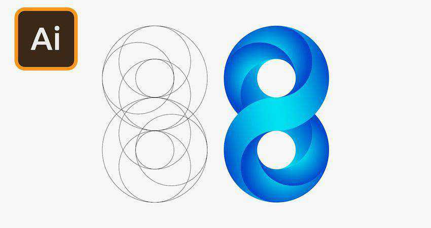 How to Create an Infinite Logo Design adobe illustrator tutorial
