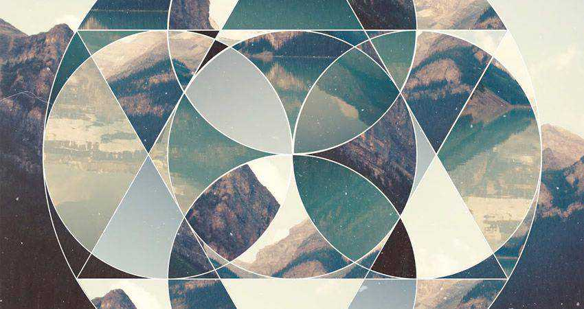 How To Create a Geometric Collage Poster adobe illustrator tutorial