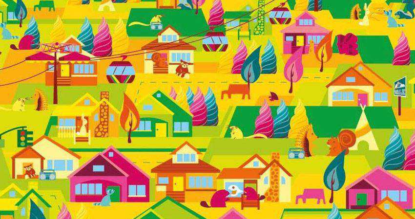 How to Create a Bright Colourful Vector Poster adobe illustrator tutorial