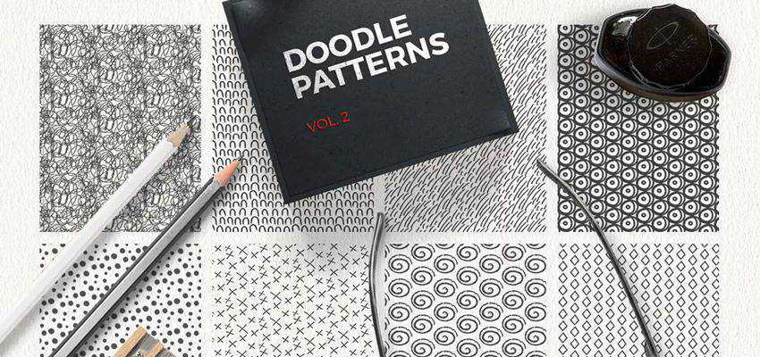 Doodle Patterns adobe illustrator