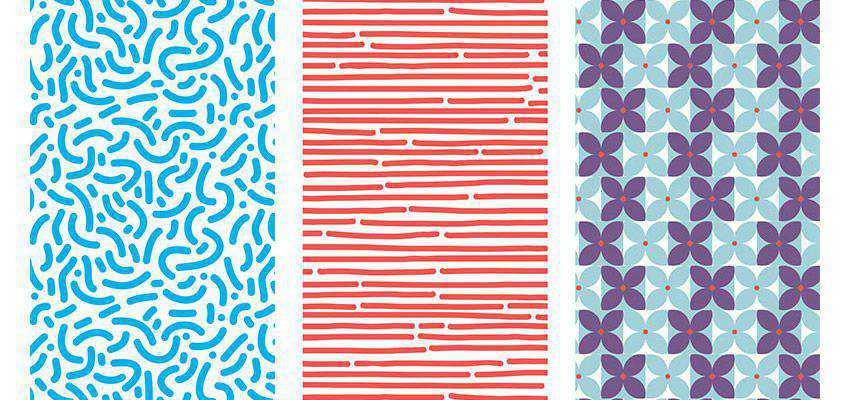 How to Create a Set of Hand-Drawn Retro Patterns adobe illustrator tutorial