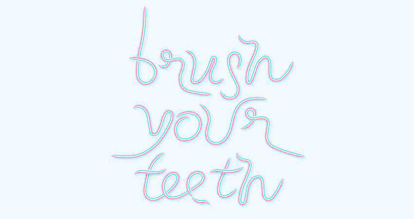 How to Create a Toothpaste Text Effect adobe illustrator tutorial