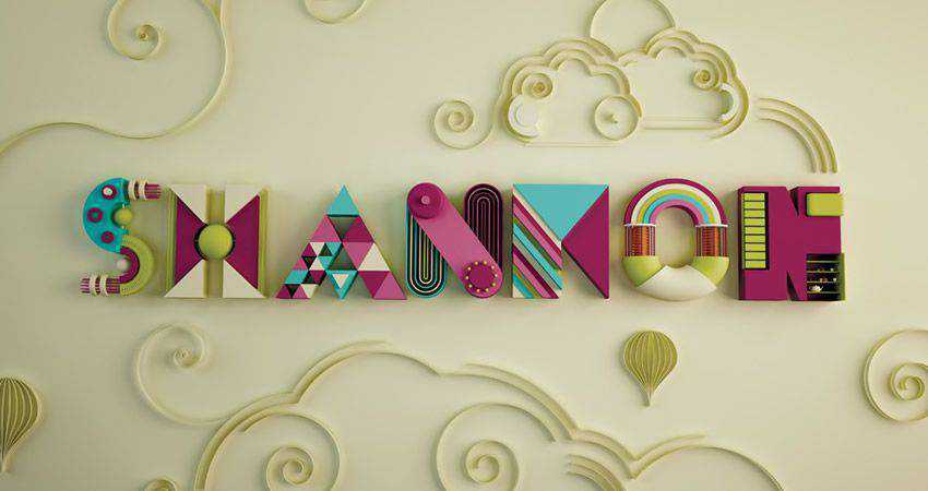 How to Create Decorative 3D Text with Swirls adobe illustrator tutorial