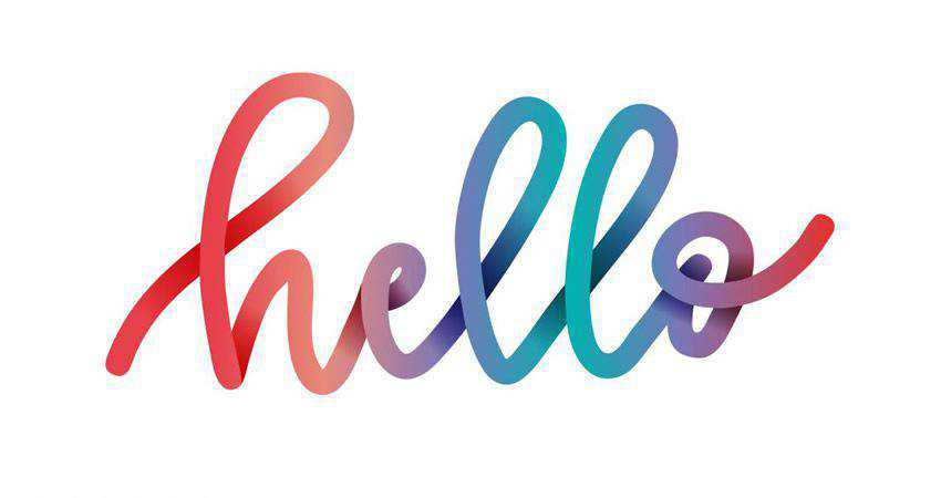 How to Create Colorful Gradient Lettering adobe illustrator tutorial