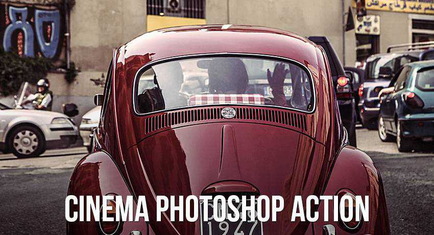 cinema movie film effects photo free photoshop actions