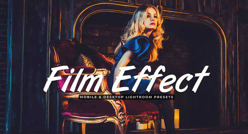 cinema movie film effects free photoshop actions