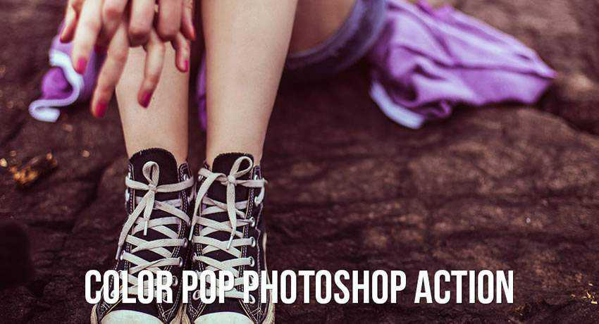 pop color effects photo free photoshop actions