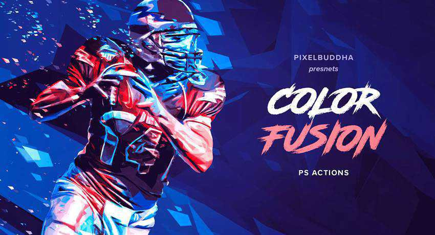 Color Fusion effects photo free photoshop actions