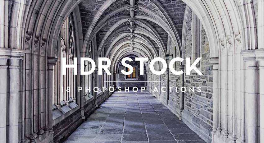 Stock hdr effects photo free photoshop actions