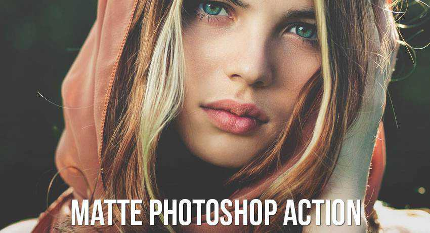 matte effects free photoshop actions