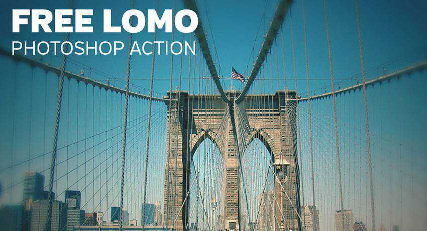 Lomo-Inspired lomo effects photo free photoshop actions
