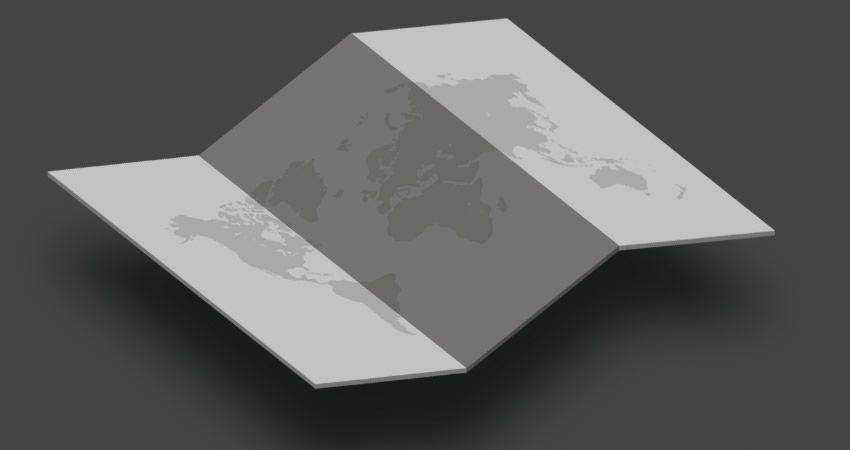 How to Create an Isometric Map Mockup action adobe photoshop tutorial
