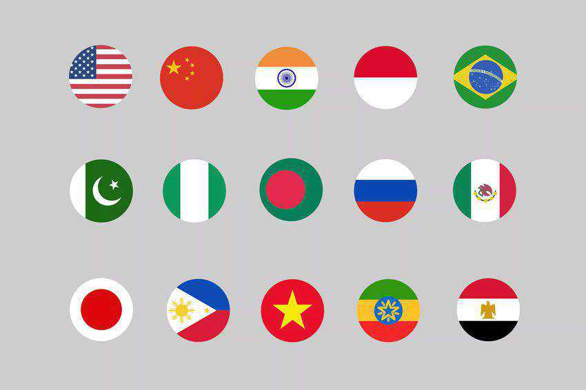 30 Country Flag Icons free icon set banner nation psd png svg ai