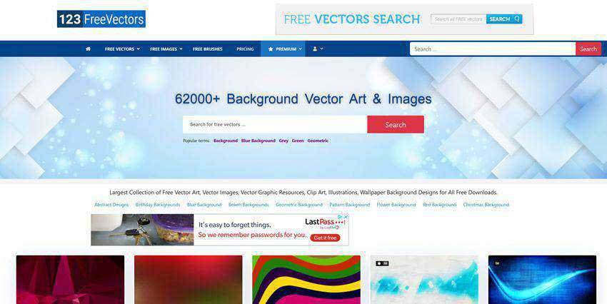 123FreeVectors vector template free illustartor