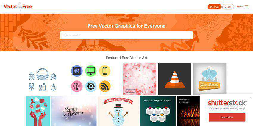 Vector4free vector template free illustartor