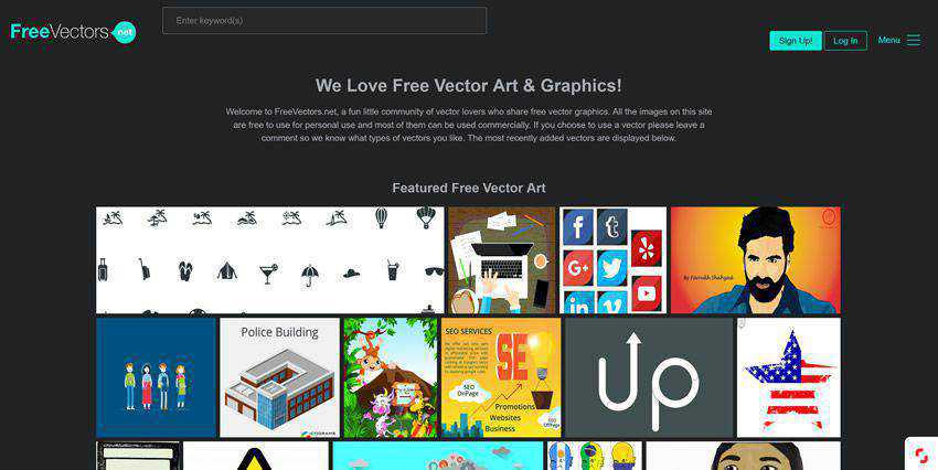 FreeVectors vector template free illustartor