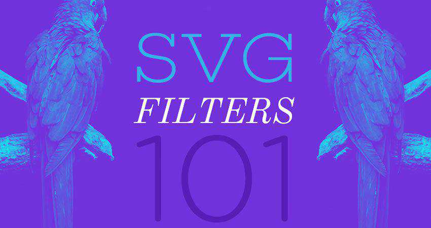 SVG Filters 101 Tutorial