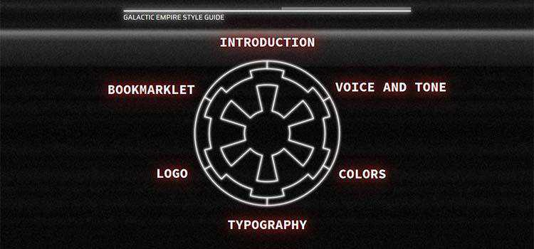 Star Wars Imperial Styleguide