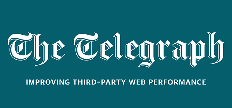 Improving third-party web performance at The Telegraph
