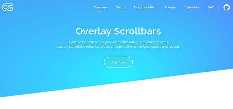 Overlay Scrollbars