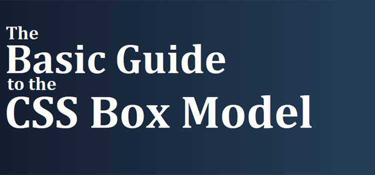 The Basic Guide to the CSS Box Model