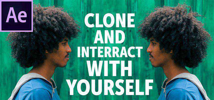 How To Clone Interact with Yourself in After Effects