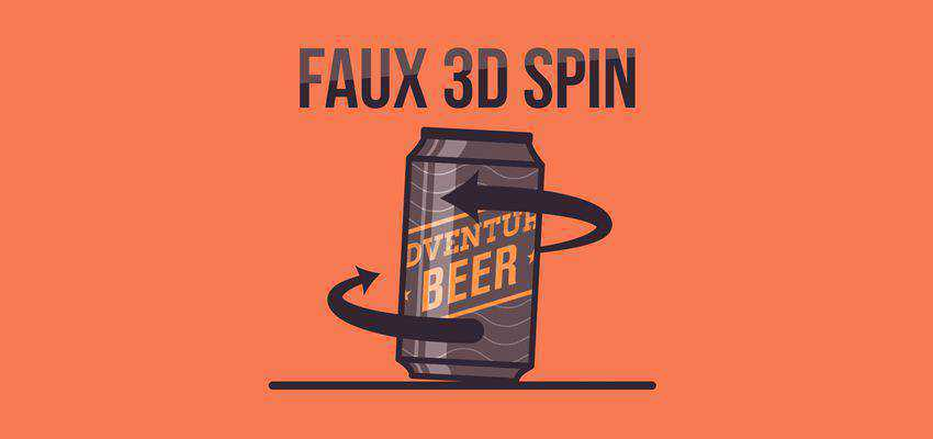 How To Create A Faux 3D Spin Effect In After Effects