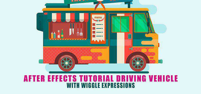 How to Create a Moving Van with Wiggle Expressions