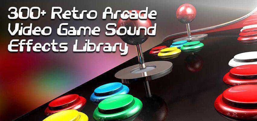 Retro Arcade Game Sound Effects Pack