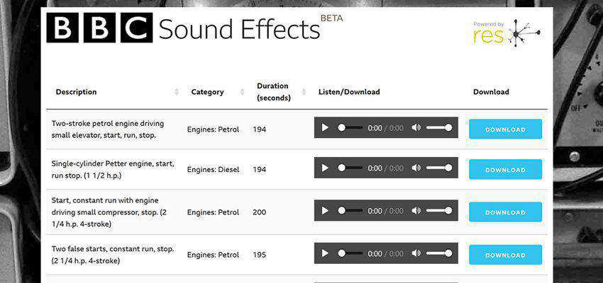 The Top 13 Sites For Downloading Completely Free Sound Effects