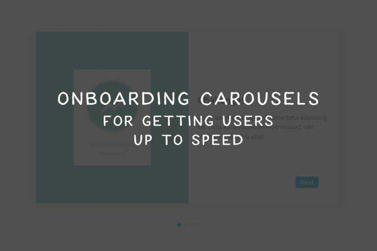 8 Fantastic Onboarding Carousel HTML & CSS Snippets