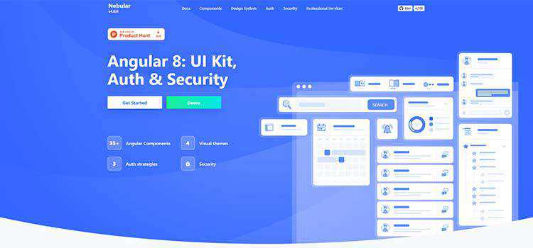 Angular 8: UI Kit, Auth & Security