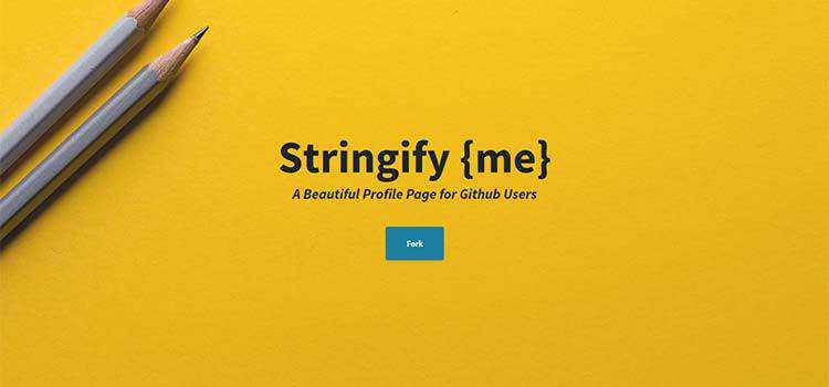 Stringify {me}