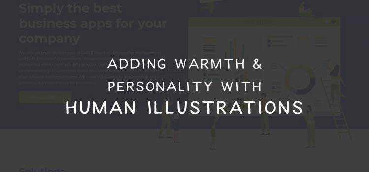Adding Warmth and Personality to Websites with Human Illustrations