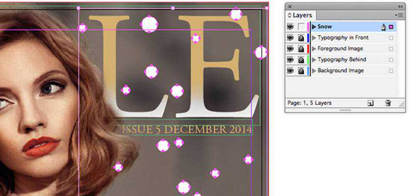 Design an InDesign Fashion Magazine Cover