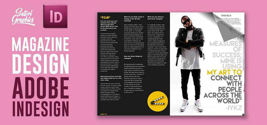 How to Create Magazine Layout Adobe InDesign