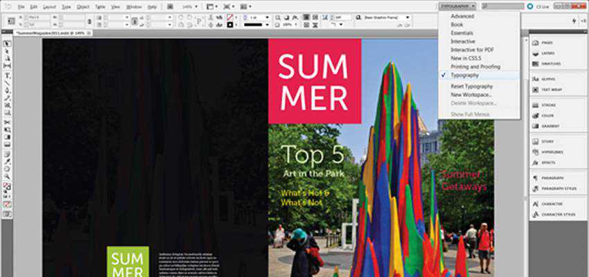 Master InDesign Page Tool