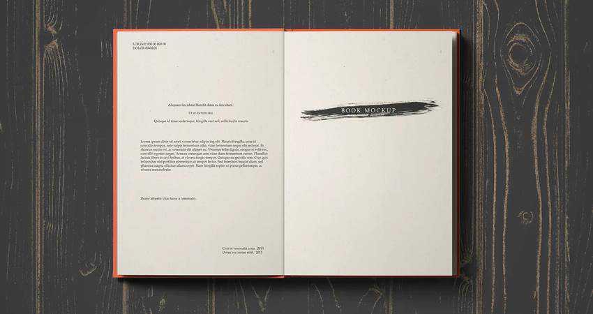 Photorealistic Book Mockup Templates Photoshop PSD